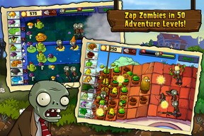 Plants vs Zombies iPhone game updated with 9 new mini-games