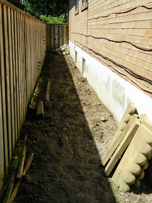 Scarborough Toronto side yard cleanup after by Paul Jung Gardening Services