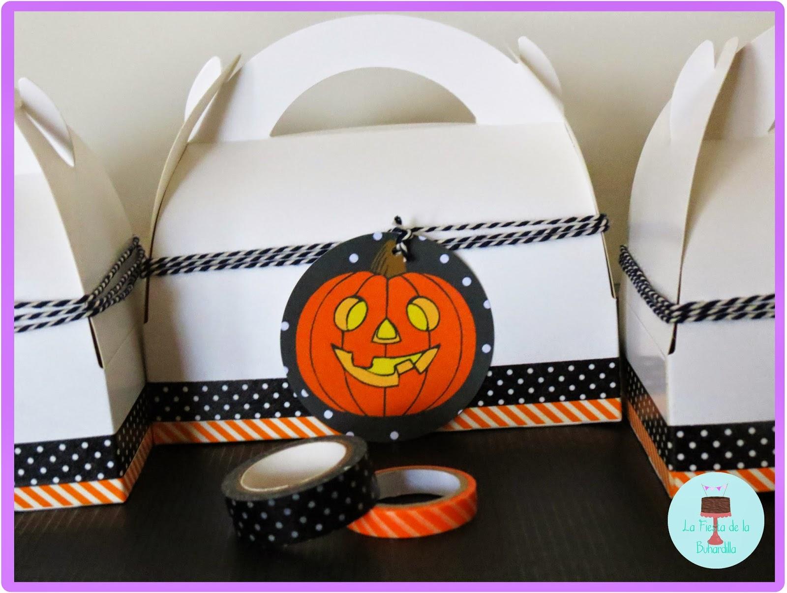 cajas picnic halloween