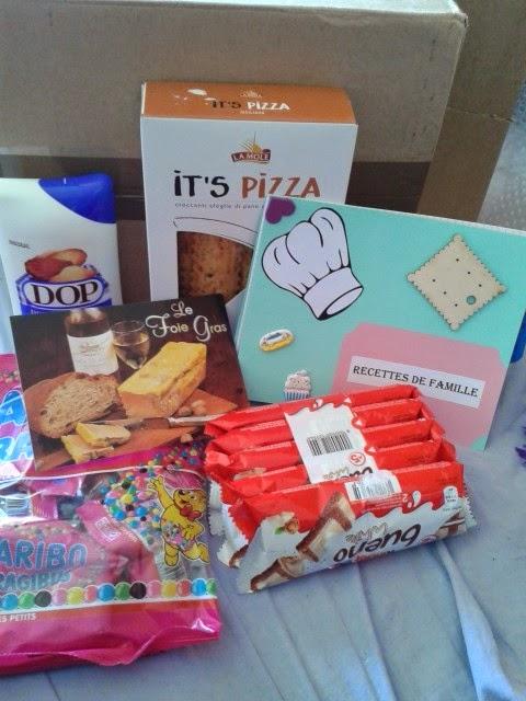 yoshi,it's pizza, foie gras, dop, madeleines, parfum d'enfance, kinder bueno white, dragibus