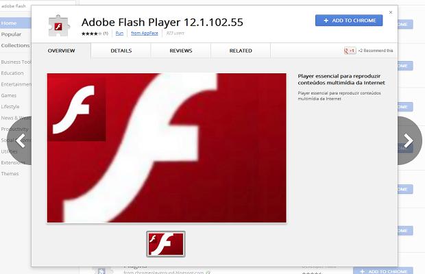 facebook virus flash player pro