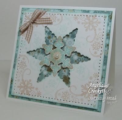 "ODBD ""Snowflake Mini Set"", ""Sparkling Snowflakes"", ""Snowflake Dies"", Designer Angie Crockett"