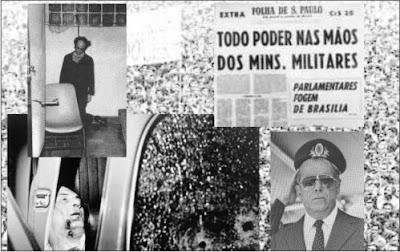 imagens dos anos de ditadura militar