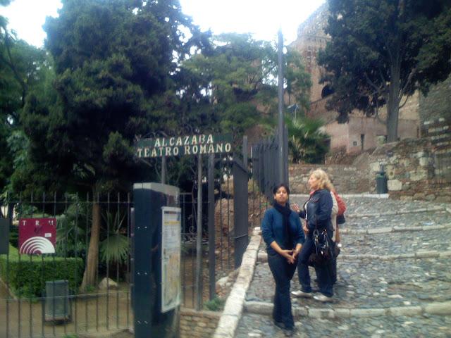 Alcazaba, Malaga Spain