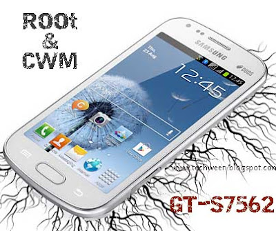 How to Root Galaxy S Duos GT-S7562 and Install Clockworkmod Recovery