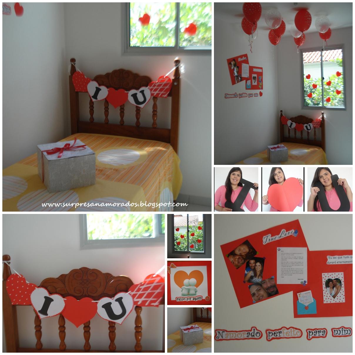 Surpresas e festas a dois  Surpresas para Namorados