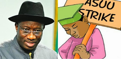 ASUU strike to be called off soon as Jonathan offers to give Nigerian Universities N1.1TRILLION in 5 years