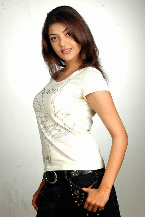 Kajal+Agarwal+Hot+And+Cute+In+Tight+T shirt+%2526+Jeans+Photos005