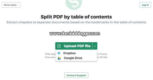 Convierte online archivos PDF a JPG en Sejda