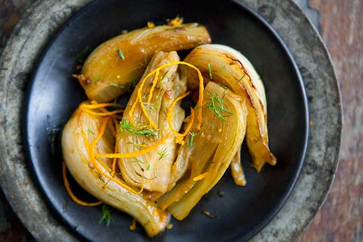Braised Fennel With Orange Recipe — Dishmaps