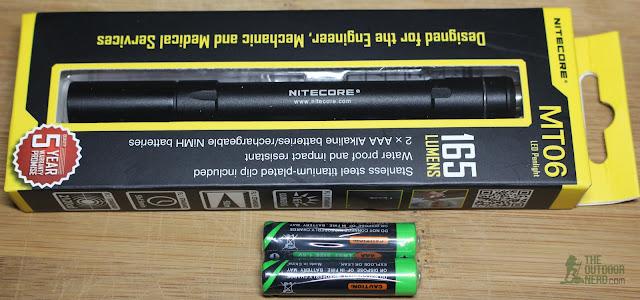Nitecore 2xAAA Flashlight / Penlight - Gallery 3