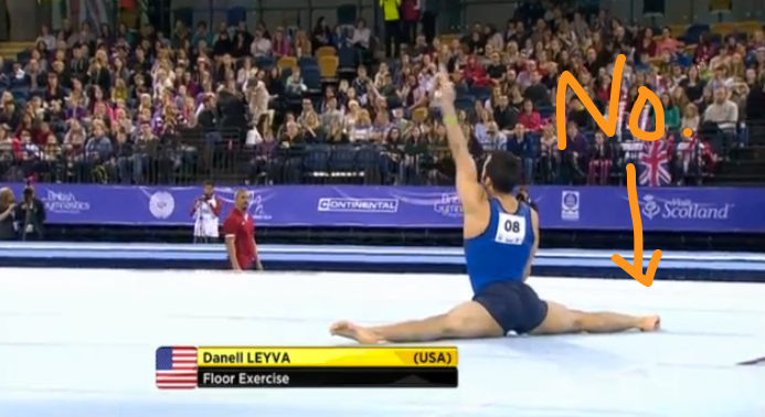 floor gymnastics splits. Has Anyone Seen A Split Lately? Floor Gymnastics Splits I