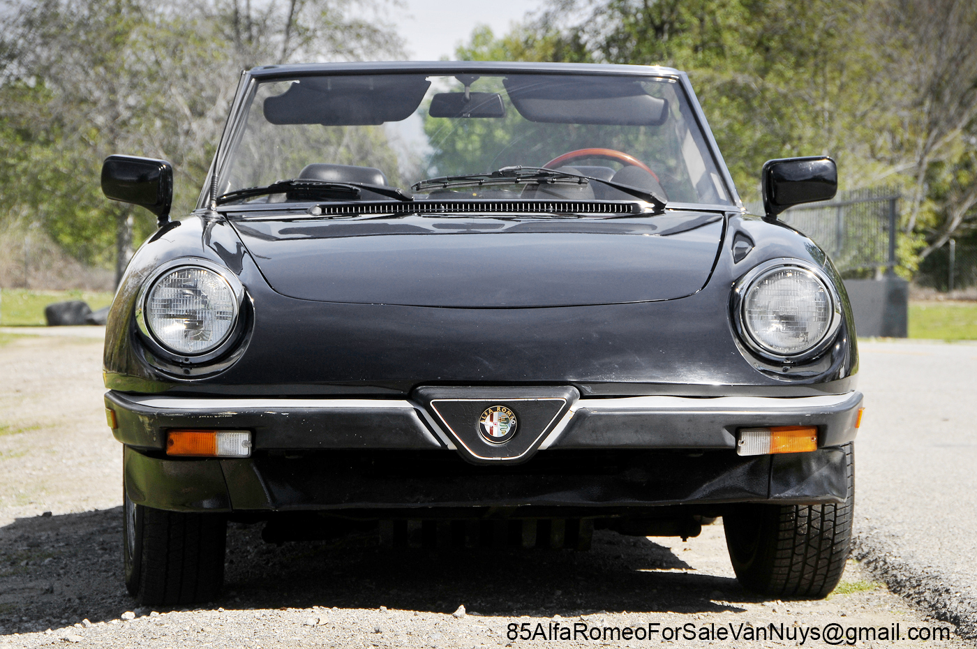 1985 alfa romeo spider veloce convertible for sale 1985 alfa romeo spider veloce for sale. Black Bedroom Furniture Sets. Home Design Ideas
