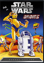 The cover of the 2004 DVD release of Droids.