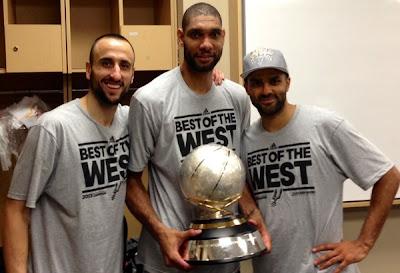 Ginobili, Duncan, Parker champs