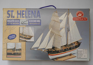 hermaphrodite brig or brigantine St. Helena by Constructo