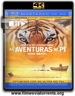 Life of Pi Mastered in 4K