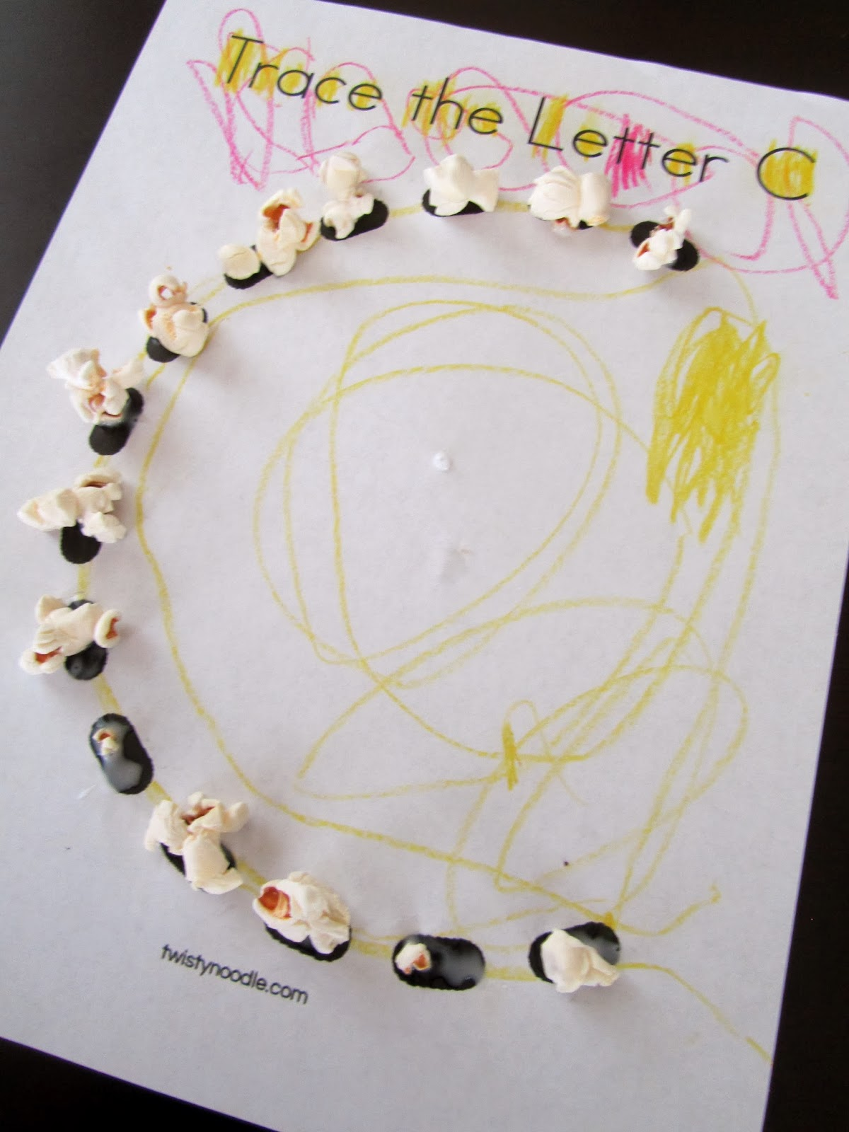 pinning with purpose c is for corn preschool lesson