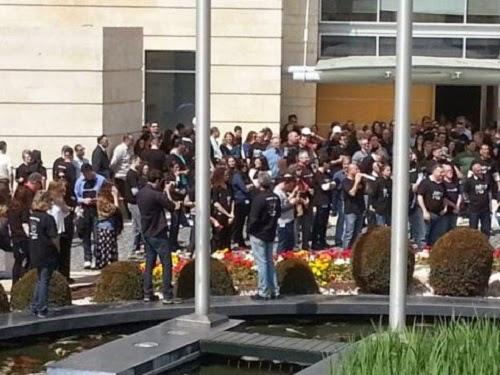 Kedutaan Israel tutup (PressTV)