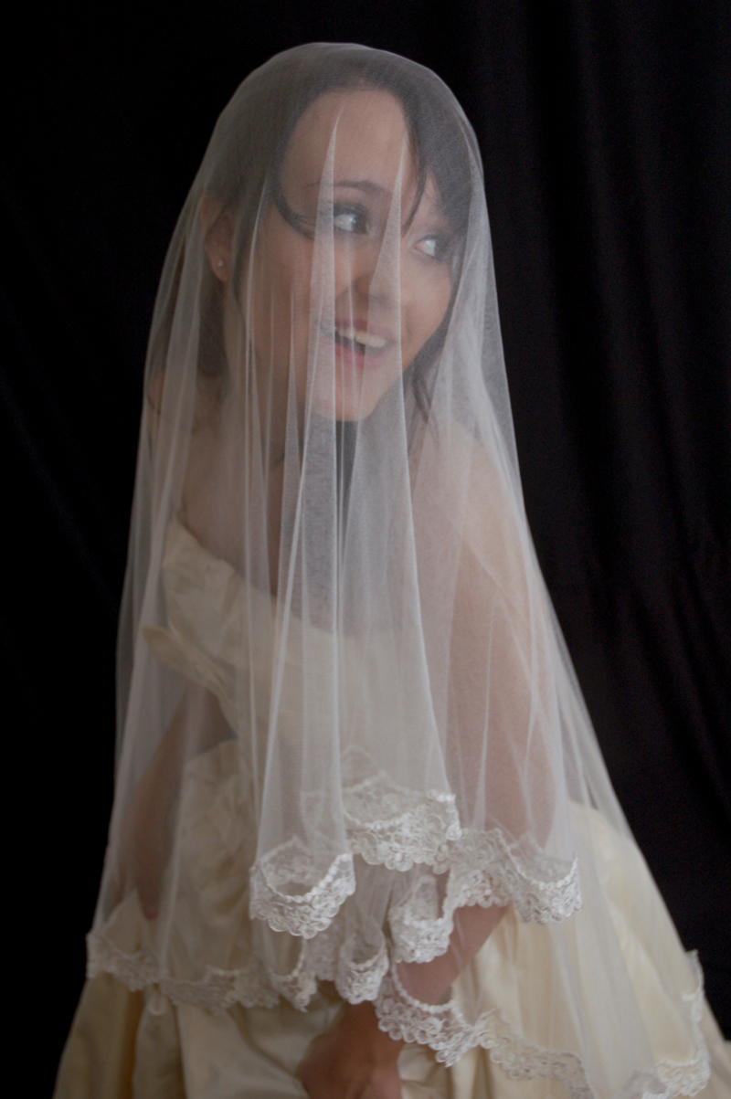 Kate Middleton Silk Tulle Veil Replica
