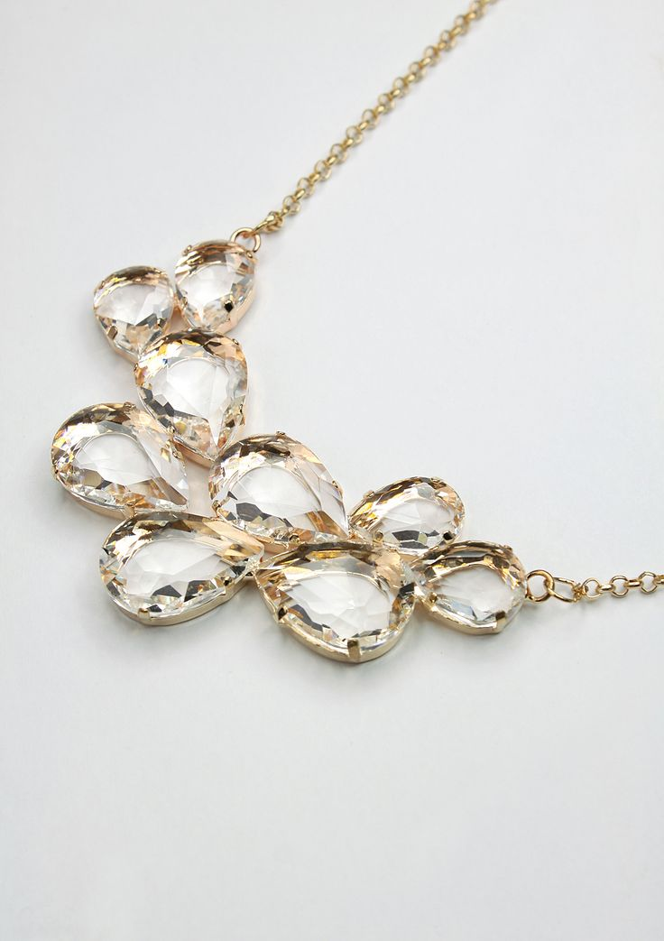 Elegant Crystals Necklace