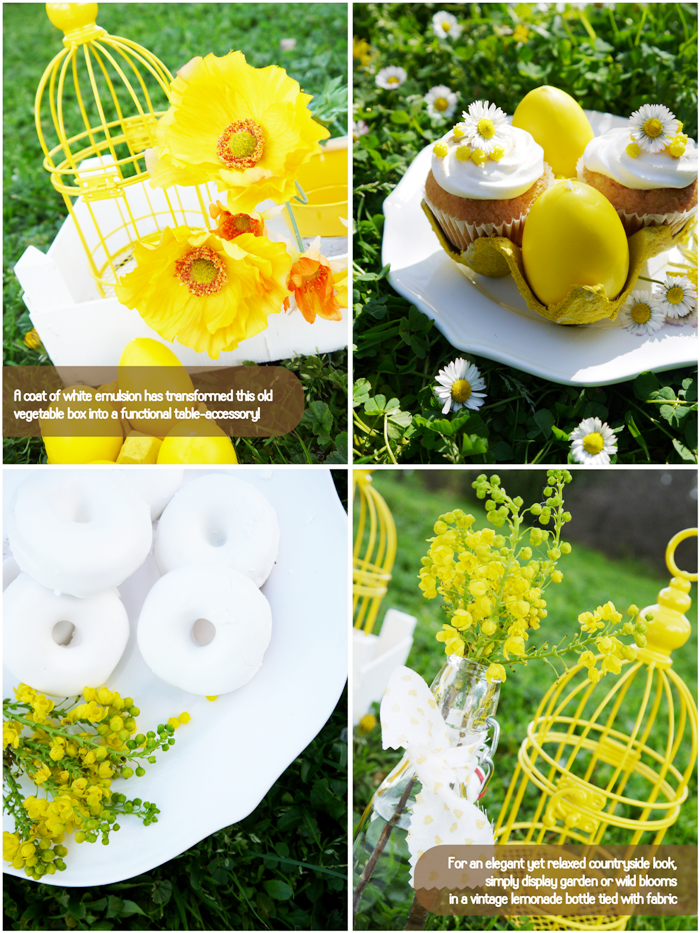 Bird's Party Blog: Easter in The Country: Daisy Inspired Spring ...