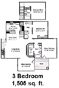 one bedroom special $ 775 two bedroom special $ 895