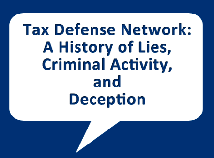 The Truth About Tax Defense Network
