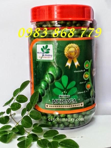 Viên Bột cây chùm ngây sản phẩm dinh dưỡng tiện lợi
