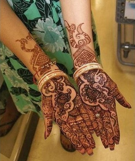 2011 Bridal Mehndi Designs For Hands1 Engagement Mehndi Designs