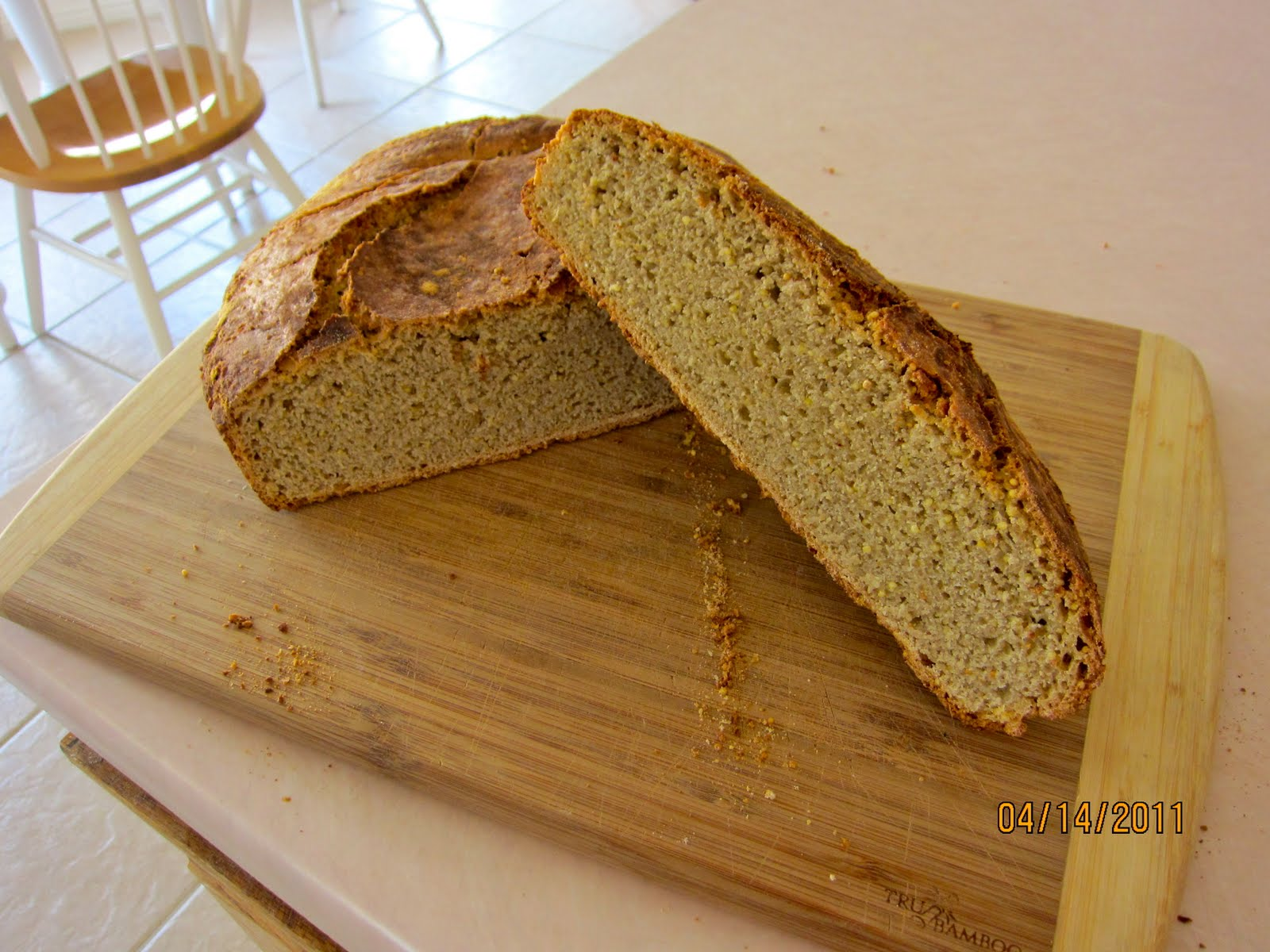 Misadventures of Mr Nut: 30% Whole Grain Bread- Sorghum, Oat, Millet