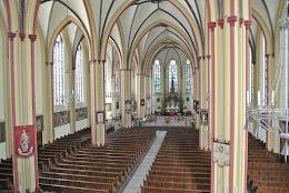 Impressie St. Jeroenskerk na de restauratie in 2012.