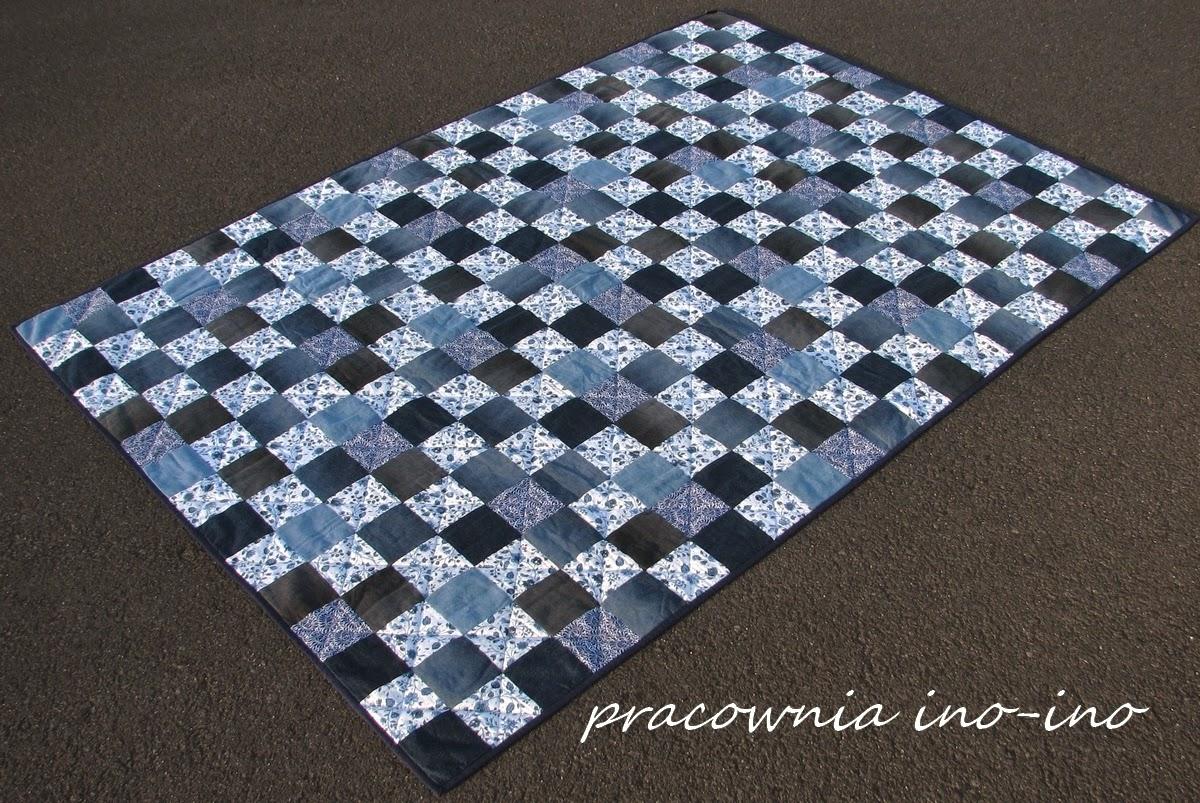 http://pl.dawanda.com/product/59984711-Narzuta-patchwork-Blue-Express