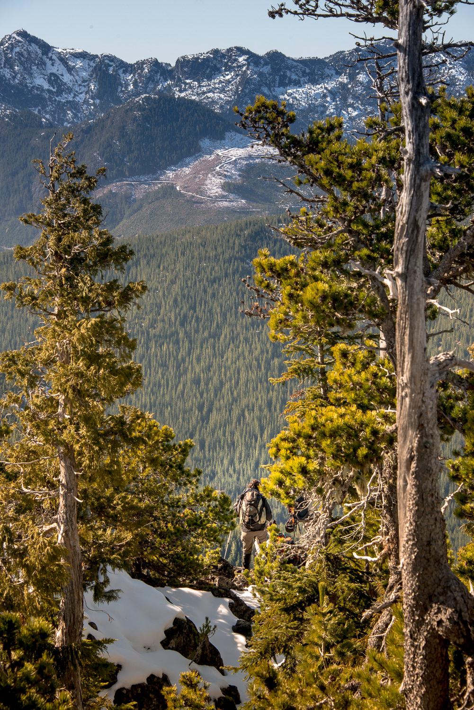 Shot from McKay Peak, looking west