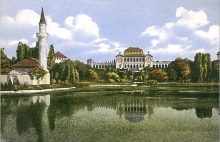 moscheea si palatul artelor parcul carol