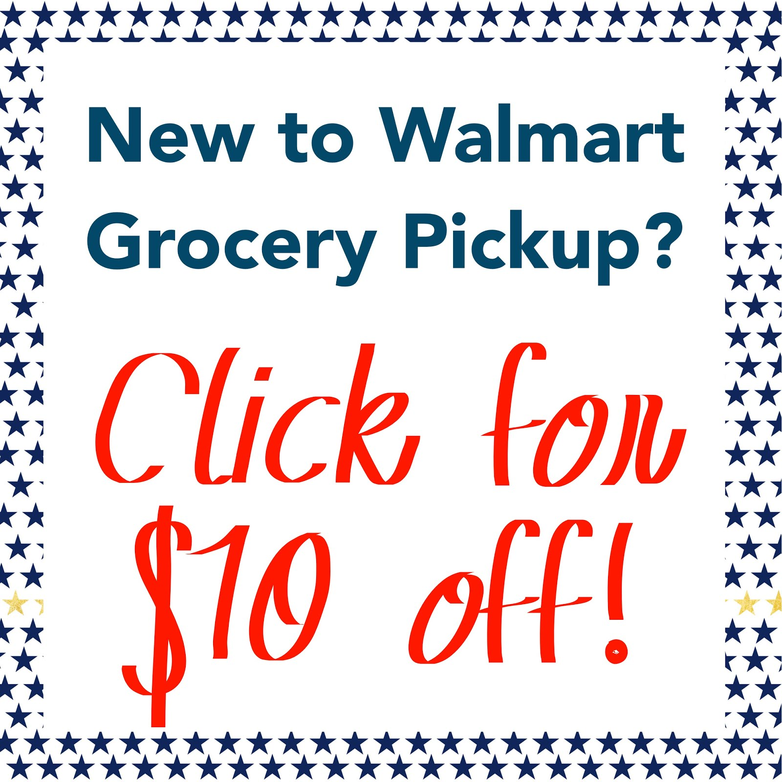 $10 Off Walmart Online Grocery Pickup & Delivery