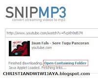 Download Audio Dari Youtube