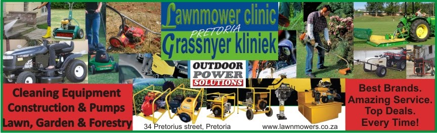 lawnmower clinic  - grassnyer kliniek