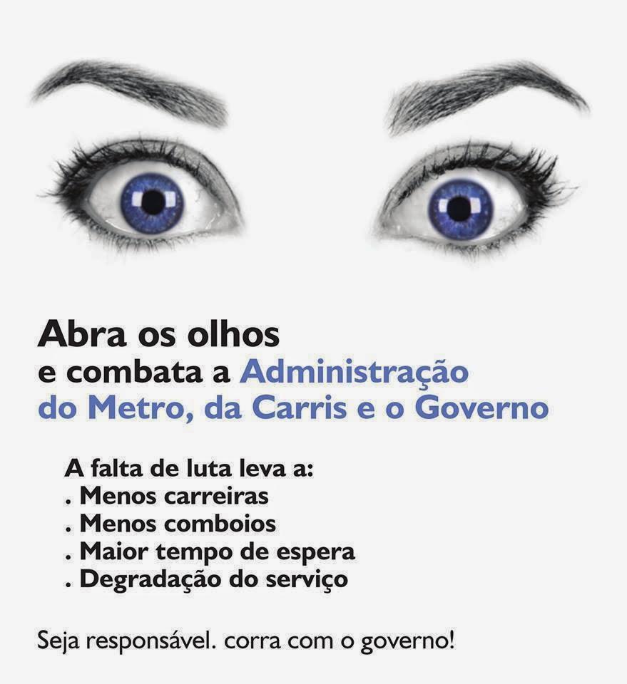 Combata a Fraude, Governo, Administração do Metro, Administração da Carris
