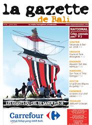 La Gazette de Bali juillet 2012