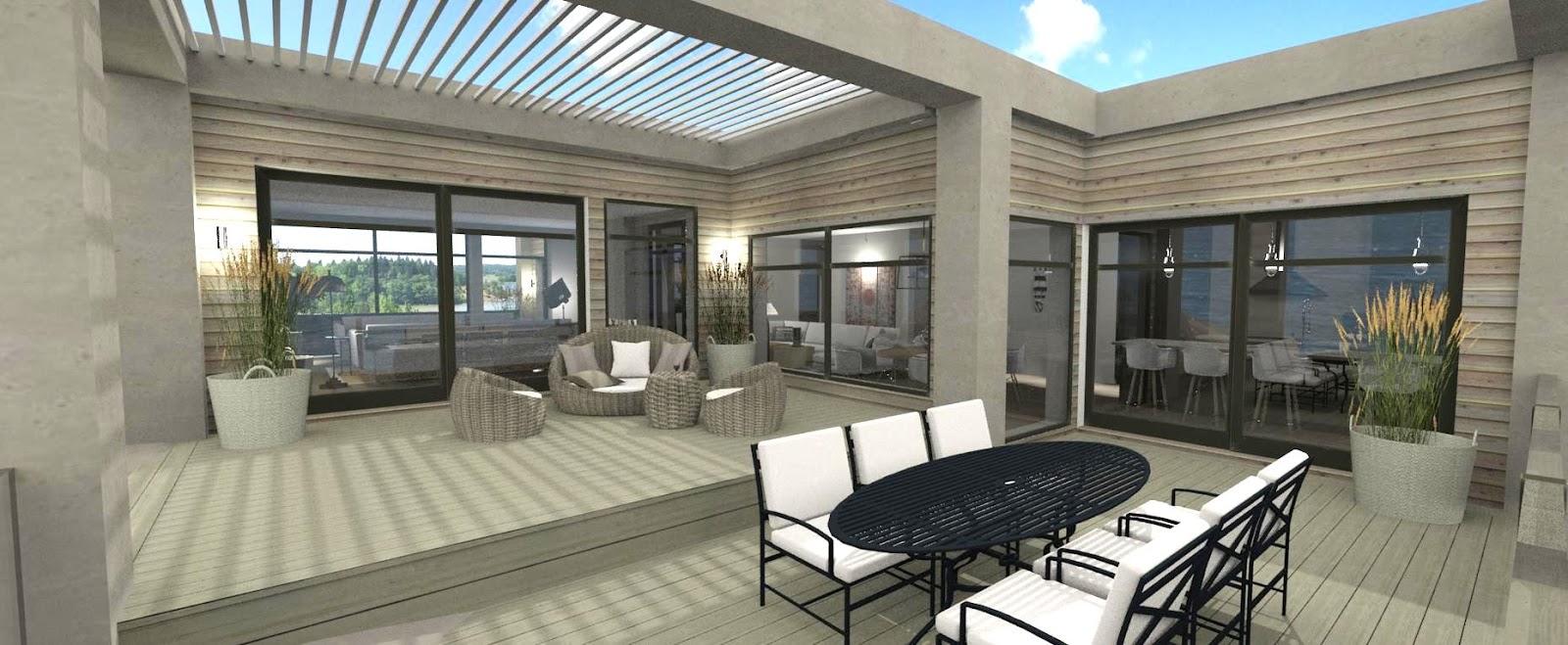 Dreams & coffees arkitekt  och projektblogg: ett modernt hus med ...