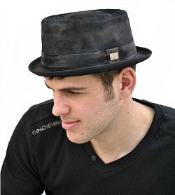 Pork Pie Trilby Hat
