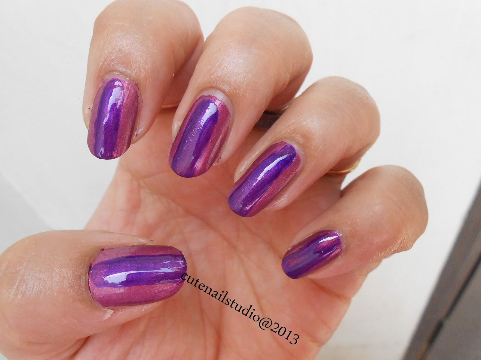Cute nails: Barry M Chameleon Colour Changing Nail Effects : pink