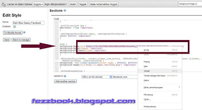 Cara Mengganti Background Facebook Transparant Dengan Photo Sendiri Di Chrome