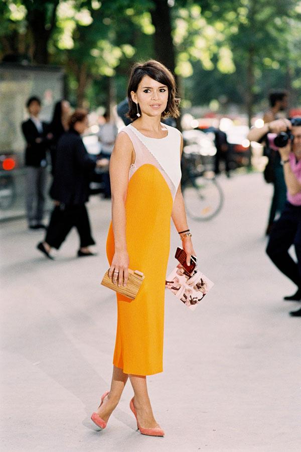 Paris Fashion Week AW 2013.Miroslava   Vanessa Jackman