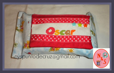 porta toallitas artesanal personalizada