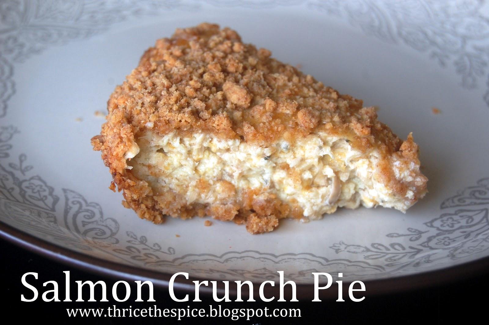 how to make salmon pie