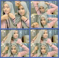 cara memakai jilbab 1 menit