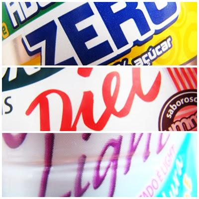 zero açúcar, diet, light, rótulos de alimentos, Anvisa, produtos light, produtos diet, o que pode ser chamado de diet, o que pode ser chamado de light,