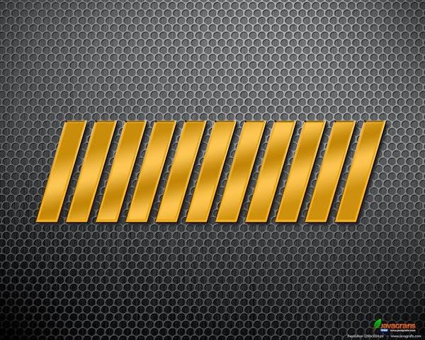 membuat pager dengan photoshop... efek emas terbaru di photoshop... layer style photoshop